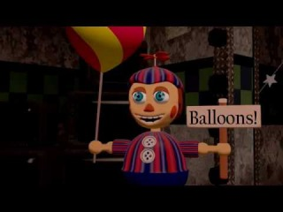 [SFM FNAF2] Foxy Meets Balloon Boy