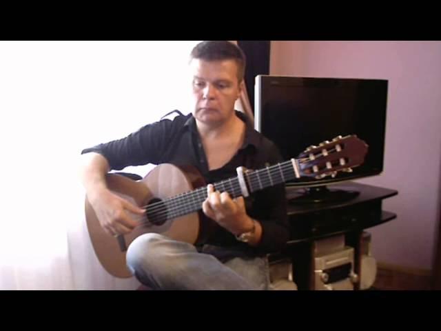 N812. Guajiras Гуахирас. Flamenco guitar V.Sharii.