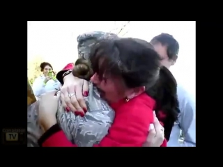 Soldiers coming home surprise compilation 3