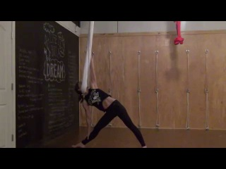Aerial Yoga: Grounded Flow