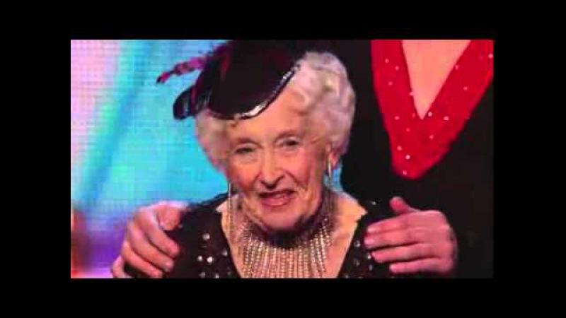 79 летняя Пэдди Джонс танцует сальсу на шоу талантов