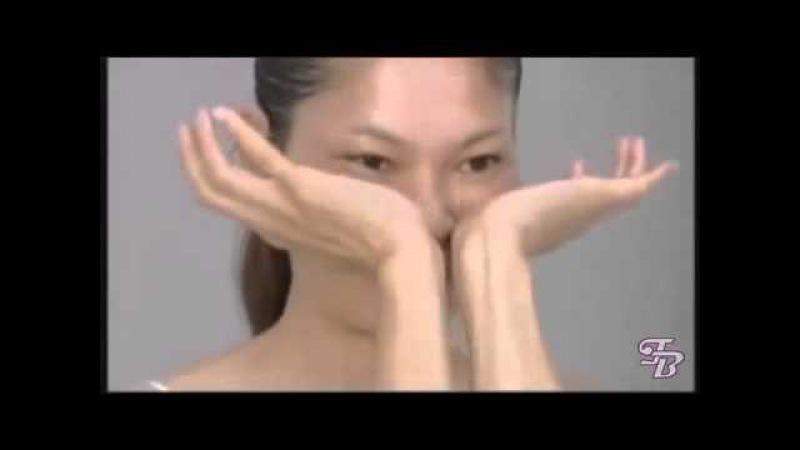 Японский массаж лица Zogan (АСАХИ) краткая версия без перевода.