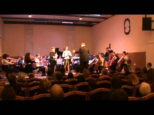 А Вивальди Концерт До мажор для 2 х гобоев с оркестром I часть Исполняют Кузнецова Т и Плыско М