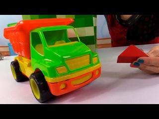 Развивающее видео для детей. Волшебная Коробка. Грузовичок и строительные блоки