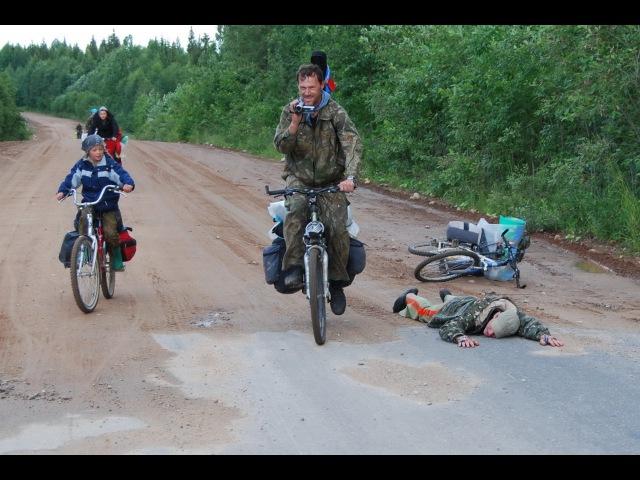 Ледяной велопоход по реке Онеге Плесецк-Ворзогоры 2008 - фильм от ГородокТВъ