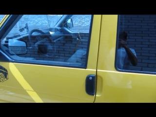 Работа электростеклоподъемников ГРАНАТ VW Transporter T4