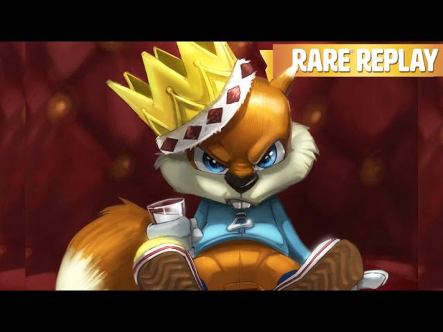 Conker's Bad Fur Day Game Movie Rare Replay All Cutscenes HD