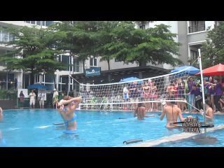 SEXY LADYBOYS  Water Volley Ball october 2014 PATTAYA THAILAND 8