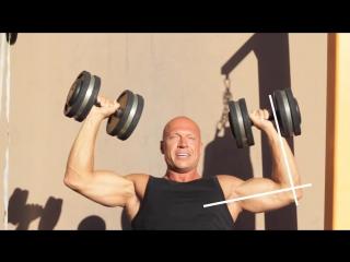 Как накачать плечи. Супер масса. Бодибилдинг, мотивация, пауэрлифтинг, качалка, тренировки, трени, тренинг, накачать, качать, сп