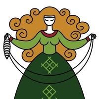 Логотип БЕРЕГИНЯ. Школа рукоделия для женщин. УФА
