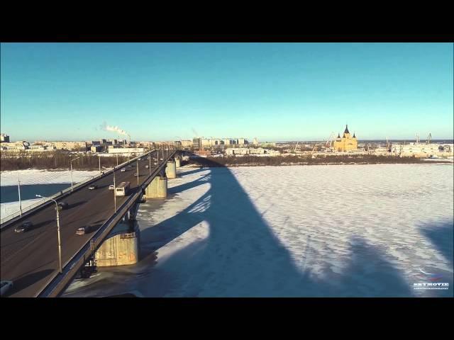 Пролетая над мостами Нижнего SkyMovie