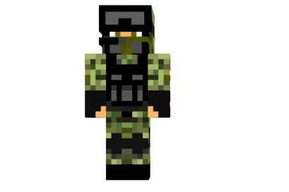скин русского солдата для майнкрафт #11