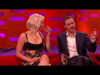 The Graham Norton Show S19E08 - Jennifer Lawrence, James McAvoy, Johnny Depp, Jack Whitehall