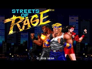 Streets of Rage SEGA Mega Drive/Sega Game Gear (Улицы Ярости) FullGameplay [027]