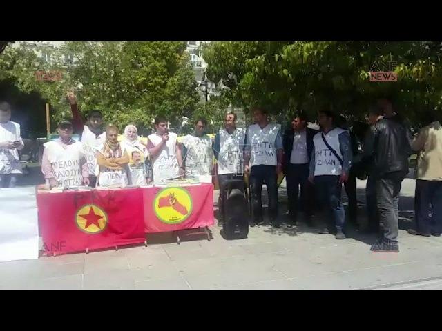 Greek Atîna Kurdistanî Destbi Greva Birçîbunekirin 1