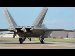 F-22 Raptor,all-weather stealth tactical fighter aircraft developed for the United States Air Force