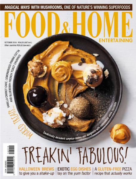Food & Home Entertaining - October 2016