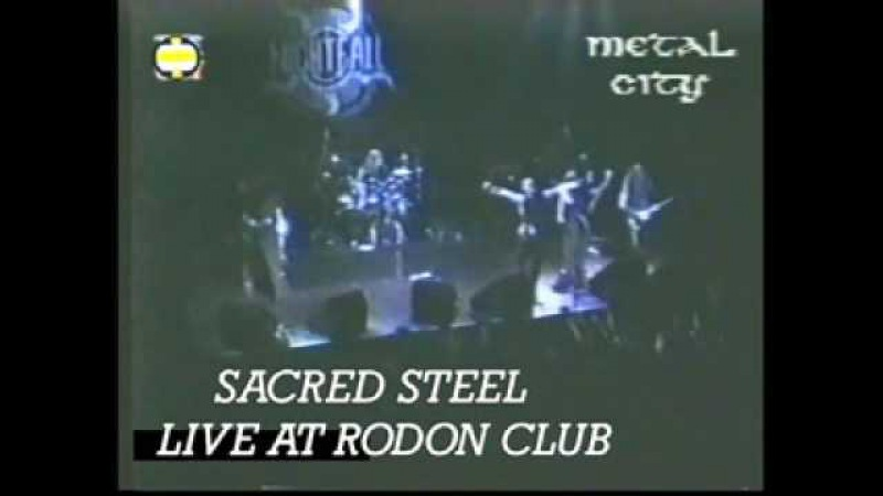 Sacred Steel Live at Rodon Club 15 2 1998