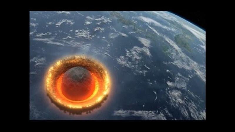 Последний День Планеты Падение Астероида Апофис 20 08 2016