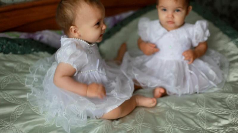 Годовасие Поли и Лизы:)
