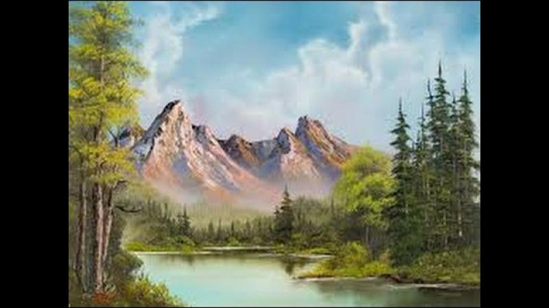 La peinture a lhuile cest pas difficile (comment peindre les montagnes)