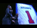 Detroit Pistons Retire Chauncey Billups Jersey
