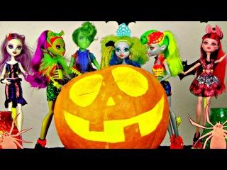 Monster High: Halloween PUMPKIN Costume Party - Ghosts, Goblins & Ghouls!