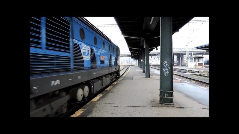 Vlaky - Zeleznice Praha - Masarykovo nadrazi