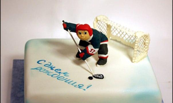 Открытка хоккеисту с днем рождения сделать своими руками