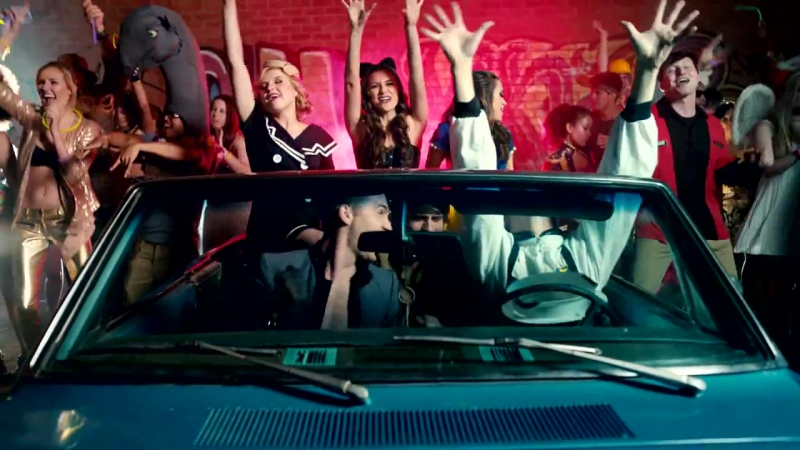 Megan Nicole Alyson Stoner Anna Grace Barlow and Ryan McCartan Weekend Warriors OST SUMMER FOREVER HD