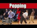 Salah Popping masters : Salah Iron M VS. Jr Boogaloo Jay Smooth