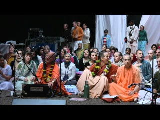 Kirtan Mela Nama Yagna with  Swami    in Feriendorf Hoher Hain - Germany