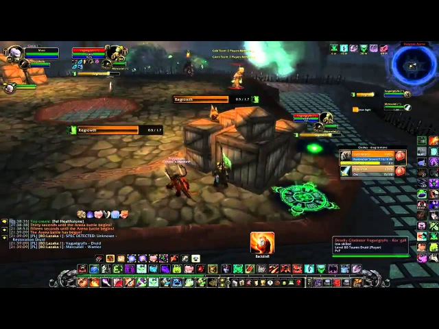 WoW WotLK Affliction Warlock PvP -- 2v2 , Duels, BGs