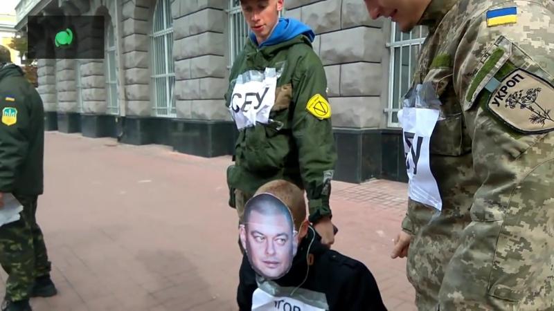 Киевские хунвейбины начали охоту за гражданами России