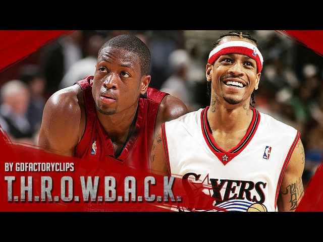 Throwback: Allen Iverson vs Dwyane Wade EPIC Duel Highlights (2005.04.14) 76ers vs Heat - MUST SEE!
