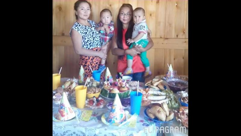 1 День рождение любимого сыночка 30.08.2015г.