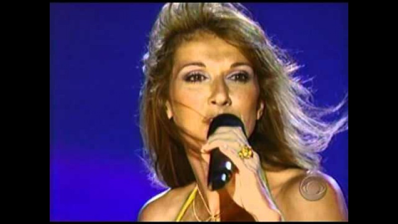 CELINE DION A New Day Has Come Rock The USA