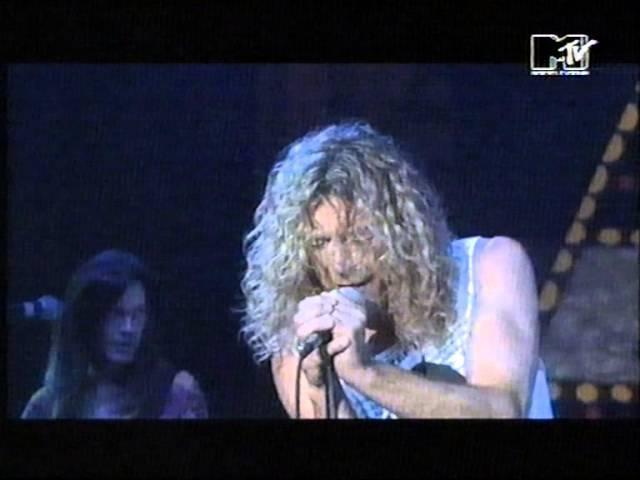 Robert Plant You Shook Me Montreux 1993 History Porn