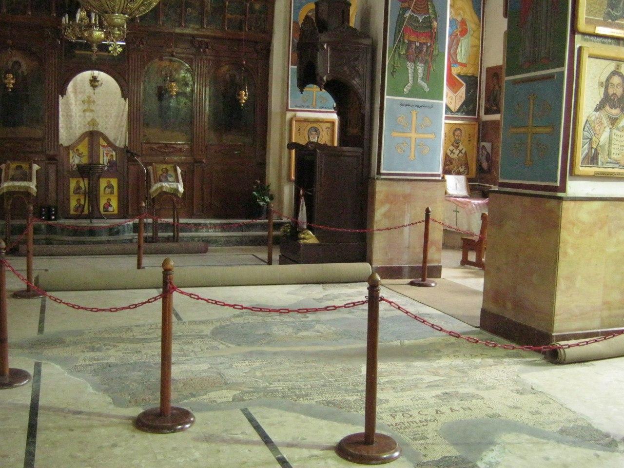 самая известная и посещаемая церковь в Мадабе