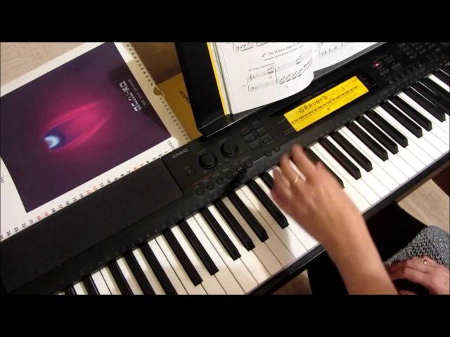 уроки игры на фортепиано. Видеошкола Piano online - Урок 6 - Трезвучия в аккомпанементе. Обертоны.