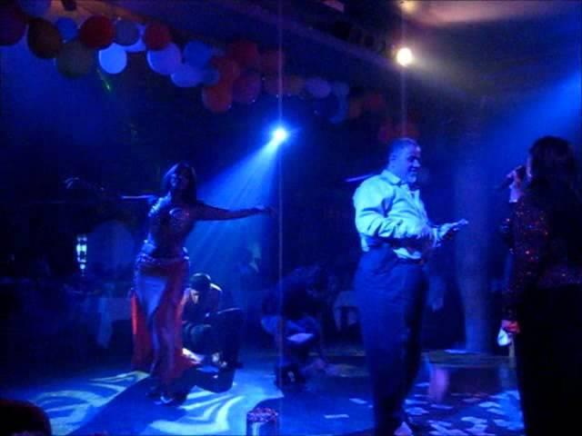 Aziza of Cairo Egyptian belly dance 'Alf Leila wa Leila