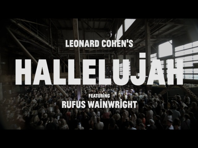 Choir! Choir! Choir! Epic! Nights: Rufus Wainwright 1500 Singers sing HALLELUJAH!