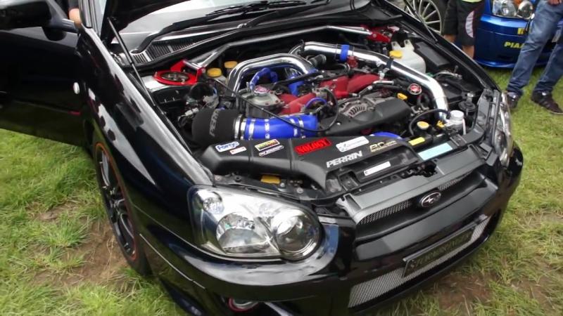 Subaru Impreza WRX STi Turbo Chatter and Anti Lag Blobeye