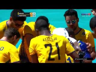 Serginho's last point in Brazil NT