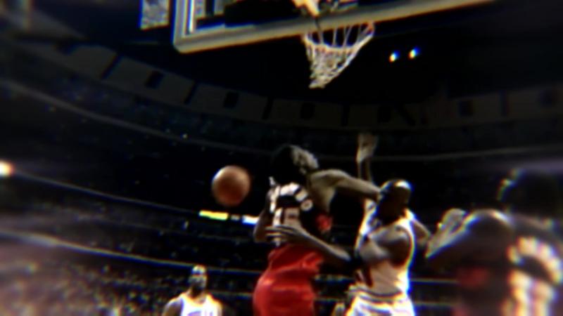 Michael Jordan Dunks on Dikembe Mutombo Kirillhant