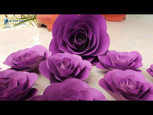 Guidance as confetti Hướng dẫn làm hoa giấy