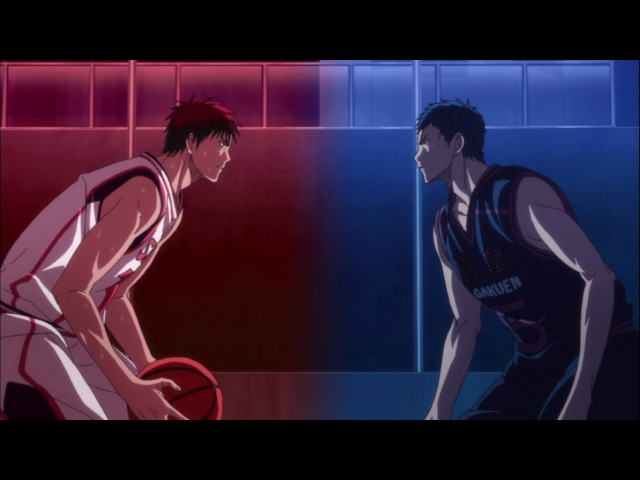 KnB AMV Kagami vs Aomine Frame of Mind