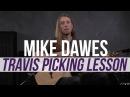 MIke Dawes - Merle Travis Travis-Picking Acoustic Lesson