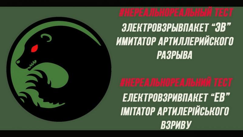 Електровзривпакет (ЕВ) (Імітатор арт. взриву) Электровзрывпакет (ЭВ) (Имитатор арт. разрыва)