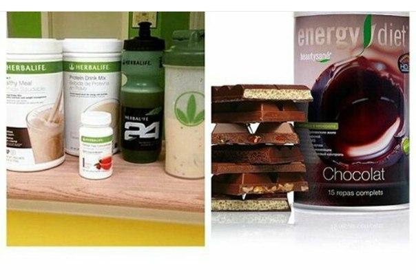 Чем отличается гербалайф и энерджи диет